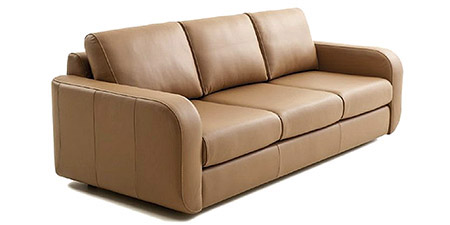 Divani in pelle e tessuto divani per tutti collezione for Offerte divani tre posti