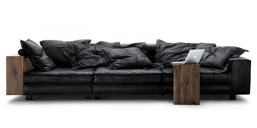 Divano in pelle divano in tessuto modello cardinal - Divano 250 cm ...