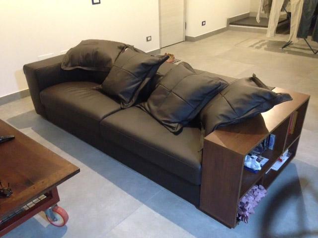 Divani offerta pronta consegna divani e salotti in pelle - Divano lungo 250 cm ...