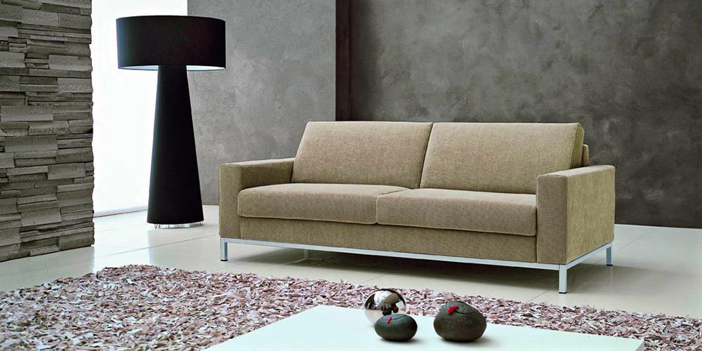 Divano letto in pelle divano in tessuto modello hawai for Divano letto 3 posti prezzi