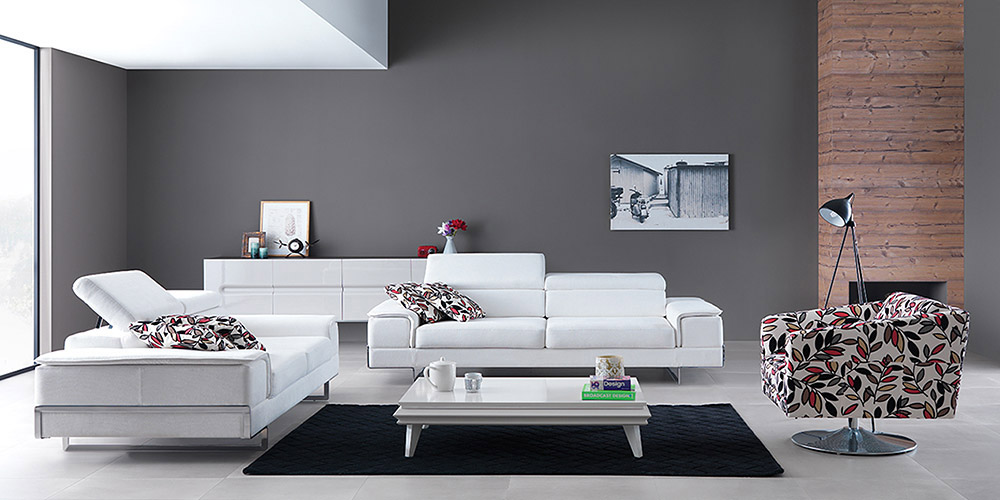 Divano in pelle divano in tessuto modello ibiza - Divano bianco in pelle ...